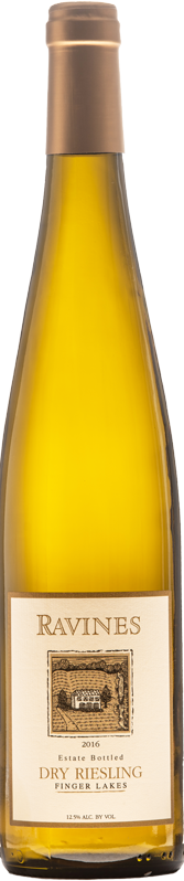 Dry Riesling Bottle