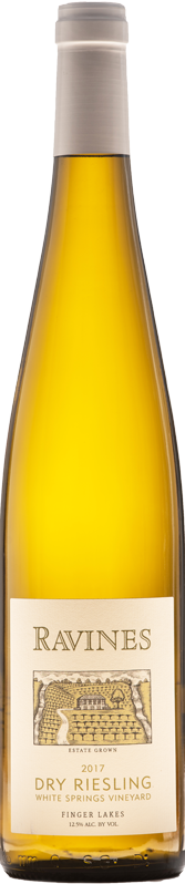 White Spring Vineyard Dry Riesling Bottle