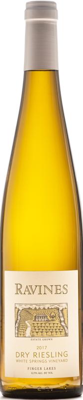 White Spring Vineyard Dry Riesling Bottle